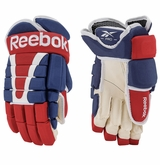 Montreal Canadiens Reebok Pro Stock HG95 Hockey Gloves