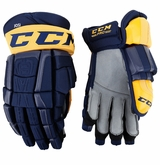 Nashville Predators CCM Crazy Light Pro Stock Hockey Gloves - Josi