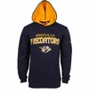Nashville Predators Maple Leafs Reebok Faceoff Playbook Sr. Pullover Hoody