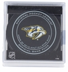 Nashville Predators Official NHL V2 Game Puck with Cube