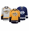 Nashville Predators Reebok Edge Premier Crested Hockey Jersey