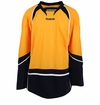 Nashville Predators Reebok Edge Uncrested Junior Hockey Jersey