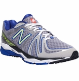 New Balance M890v2 Training Shoes - Silver/Blue