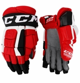 New Jersey Devils CCM Pro Stock Hockey Gloves