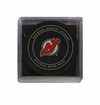 New Jersey Devils Official NHL Game Puck with Cube