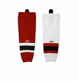 New Jersey Devils Reebok Edge SX100 Intermediate Hockey Socks