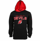 New Jersey Devils Reebok Faceoff Playbook Sr. Pullover Hoody