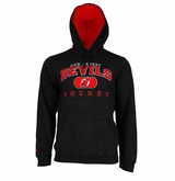 New Jersey Devils Reebok Face-Off Playbook Sr. Pullover Hoody
