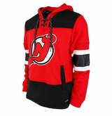 New Jersey Devils Reebok Face-Off Team Jersey Sr. Hooded Sweatshirt