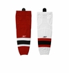 New Jerseys Devils Reebok Edge SX100 Junior Hockey Socks