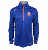 New York Islanders Reebok Baselayer Quarter Zip Pullover Performance Jacket