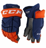 New York Islanders CCM 12X Pro Stock Hockey Gloves - McDonald