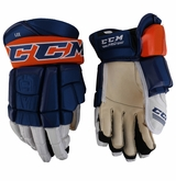 New York Islanders CCM 3 Pro Stock Hockey Gloves - Lee