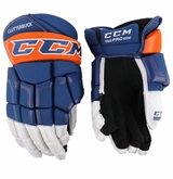 New York Islanders CCM 55 Pro Stock Hockey Gloves - Clutterbuck