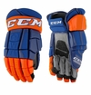 New York Islanders CCM Crazy Light Pro Stock Hockey Gloves