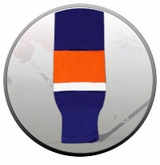 New York Islanders Knit Socks