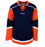New York Islanders Old Reebok Edge Uncrested Junior Hockey Jersey