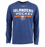 New York Islanders Reebok Center Ice Locker Room Sr. Long Sleeve Performance Shirt