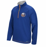 New York Islanders Reebok Center Ice Sr. Quarter Zip Pullover