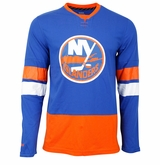 New York Islanders Reebok Face-Off Sr. Long Sleeve Jersey Tee