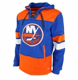 New York Islanders Reebok Face-Off Team Jersey Sr. Hooded Sweatshirt