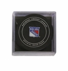 New York Rangers Official NHL Game Puck with Cube