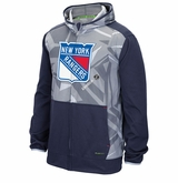 New York Rangers Reebok Center Ice TNT Sr. Full Zip Hoody