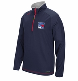 New York Rangers Reebok Center Ice Sr. Quarter Zip Pullover