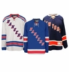New York Rangers Reebok Edge Jr. Premier Crested Hockey Jersey