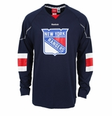 New York Rangers Reebok Edge Long Sleeve Jersey Tee
