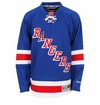 New York Rangers Reebok Edge Premier Crested Hockey Jersey