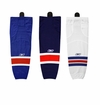 New York Rangers Reebok Edge SX100 Intermediate Hockey Socks