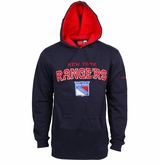 New York Rangers Reebok Faceoff Playbook Sr. Pullover Hoody