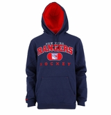 New York Rangers Reebok Face-Off Playbook Sr. Pullover Hoody