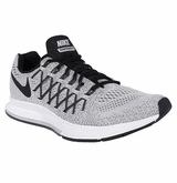 Nike AIR Zoom Pegasus 32 Men's Training Shoes - Platinum/Dark Gray/Black