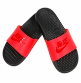 Nike Benassi JDI Boy's Sandals - Crimson/Gym Red