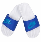 Nike Benassi JDI Boy's Sandals - Light Blue/Blue Lagoon