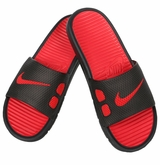 Nike Benassi Slide Men's Sandals - Black/Red
