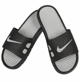Nike Benassi Slide Men's Sandals - Black/Silver