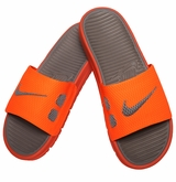 Nike Benassi Slide Men's Sandals - Orange/Gray