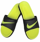 Nike Benassi Solarsoft 2 Slide Men's Sandals - Black/Volt