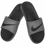 Nike Benassi Solarsoft 2 Slide Men's Sandals - Dark Gray/Black