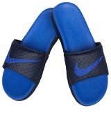 Nike Benassi Solarsoft 2 Slide Men's Sandals - Midnight/Lyon Blue