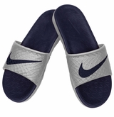 Nike Benassi Solarsoft 2 Slide Men's Sandals - Wolf Gray/Midnight Navy
