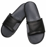 Nike Benassi Solarsoft Men's Slide Sandals - Black/Dark Gray