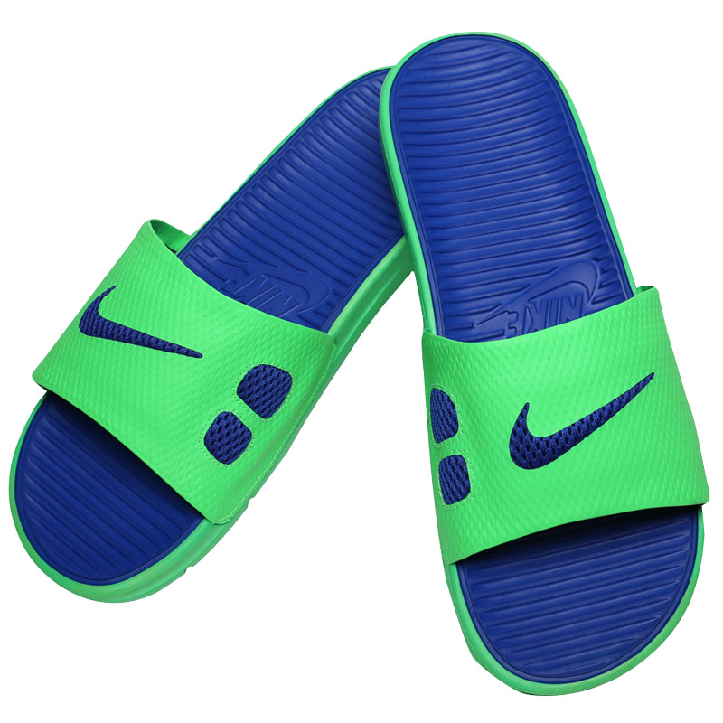 blue nike sandals - 28 images - 44 73 shoes slippers ...