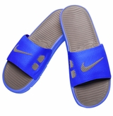 Nike Benassi Solarsoft Men's Slide Sandals - Royal/Gray