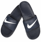 Nike Benassi Swoosh Men's Sandals - Obsidian/White