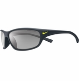 Nike Black Rabid Sunglasses - Matte Black/Volt/Gray