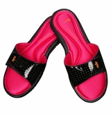 Nike Comfort Slide Women's Sandals - Black/Pink/Orange